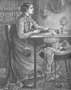 woman-at-desk-with-knitting